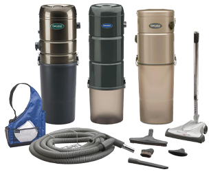 Vacuflo central vacuums / central vacuum cleaners